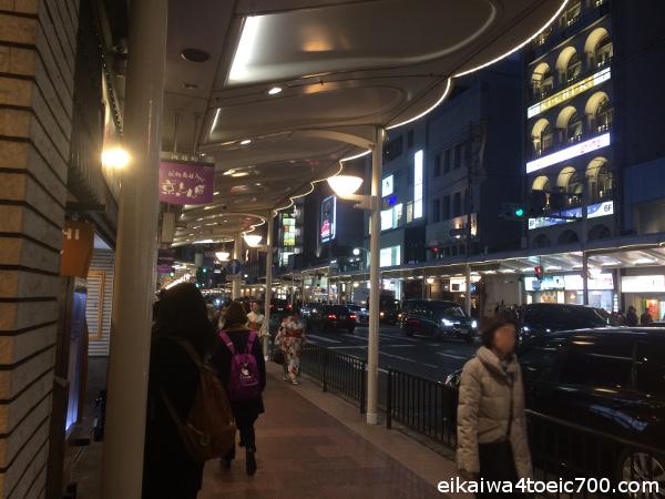 京都でいきなり外国人に英語で道を聞かれた