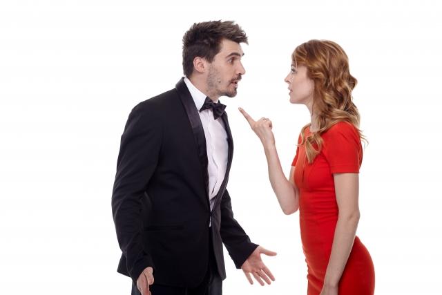 言い争うカップル ロールプレイ英会話教材の有効な練習方法とは