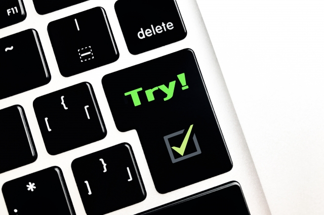 Tryのキーボード 英会話教材Advanced Beginnerには返金は無いがお試し受講が可能