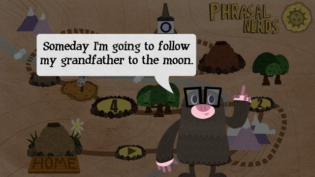 Phrasal Nerdはモグラが月へ行く物語