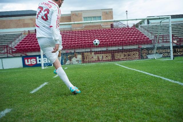 サッカー練習 英会話の練習も地道な練習の積み重ね