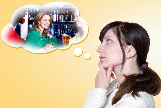 バーのシーンを想像 プライムイングリッシュで英語が英語をイメージで理解できるようになる