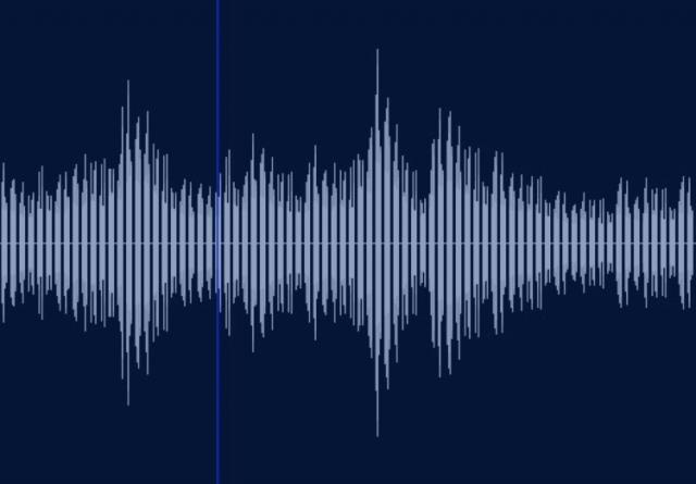 音の波形 英語を話すうえではイントネーションは超重要