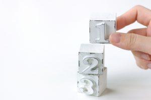 番号積み木を積み上げる 英語を話す・聞くときに一番大切なコツは語順感覚