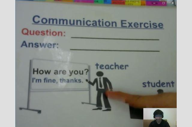 イングリッシュベルのDMEメソッドの無料体験 コミュニケーションの練習