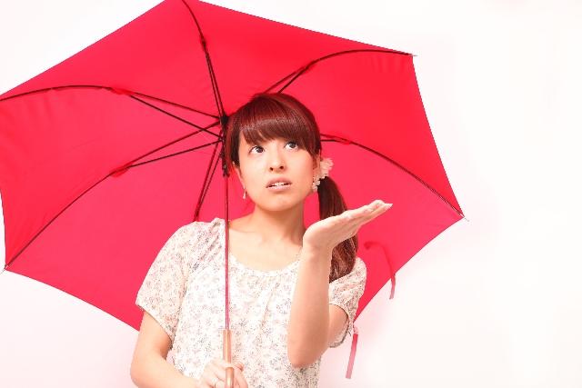 """『雨が降るといけないので』は """"in case it rains"""""""
